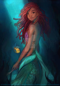 Halle Bailey - Little Mermaid
