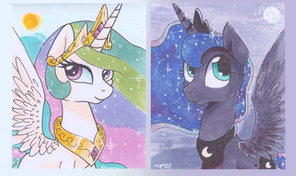 Lunelestia cards by mapony240