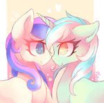 lyra and bonbon (collab)
