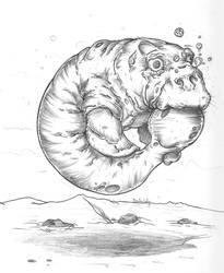dugong by jothecrusader