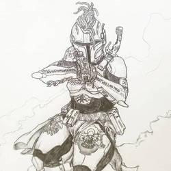 my lady mando by jothecrusader