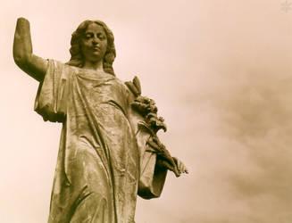 Stone Angel IV by blue-bella-donna