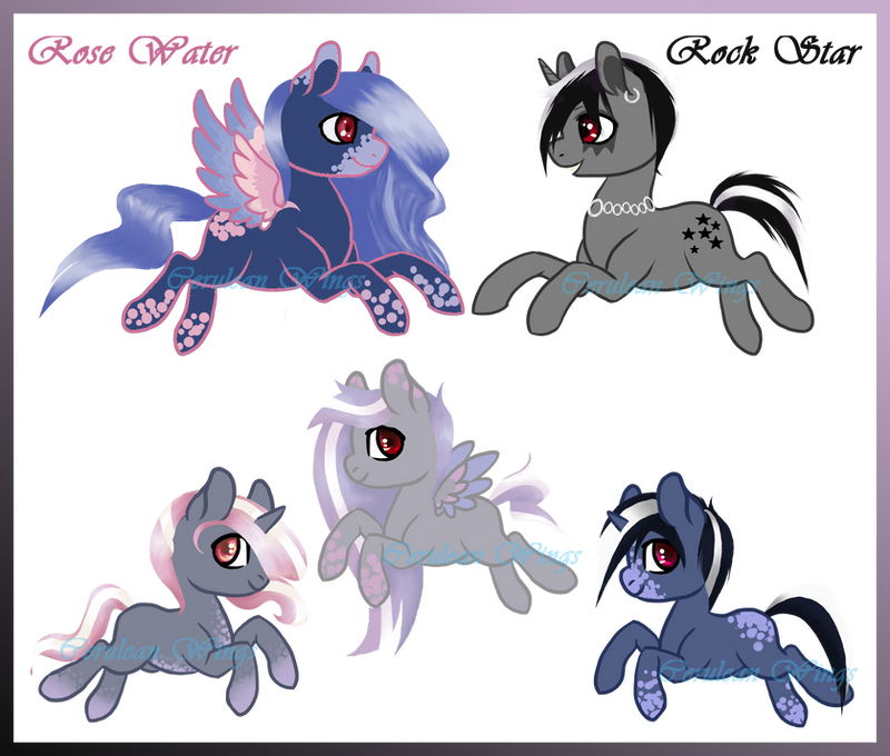 :Com: RosexRock Star Breeding by Cerulean-Wings