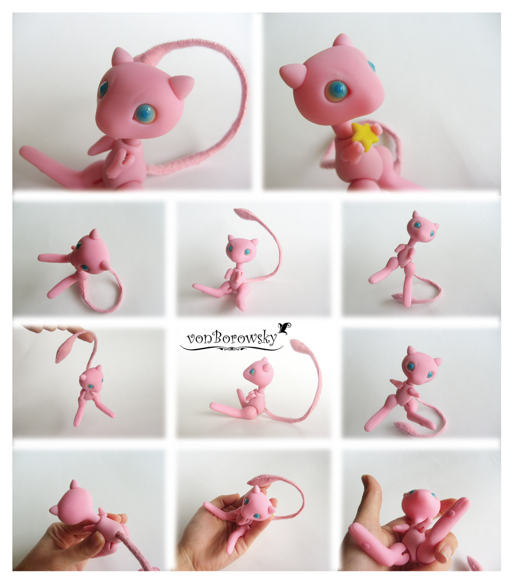 Ball Jointed Doll Mew by vonBorowsky on DeviantArt