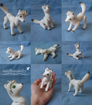 Arctic Fox Doll - Commission