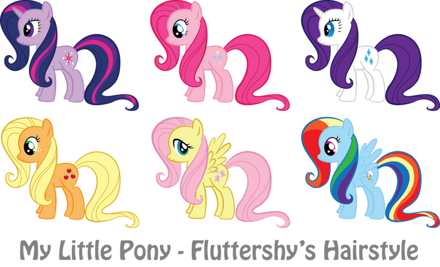 my little pony hair style mlp fluttershy s hairstyle by vonborowsky on deviantart 4368 | mlp fluttershy s hairstyle by vonborowsky d4zj0lp