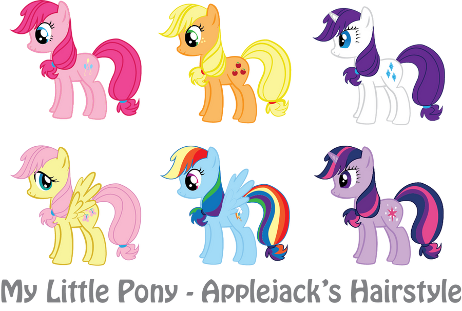 my little pony hair style mlp applejack s hairstyle by vonborowsky on deviantart 4368 | mlp applejack s hairstyle by vonborowsky d5d6rn1
