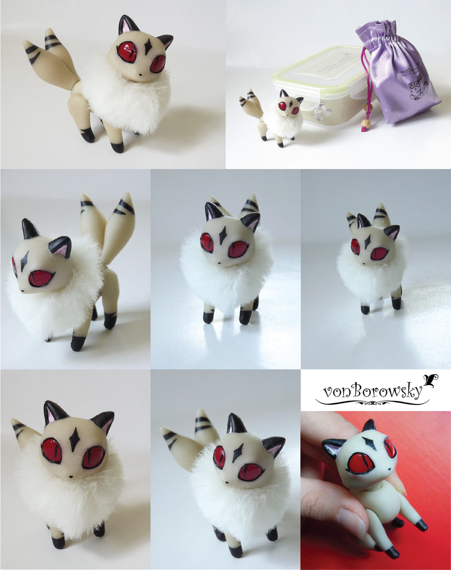 Kirara Poseable Doll by vonBorowsky