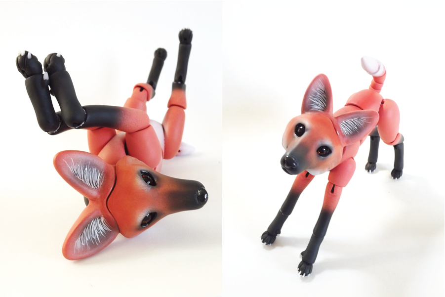 Maned Wolf BJD 01 by vonBorowsky