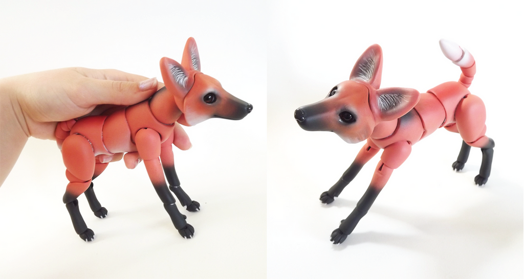 Maned Wolf Pet Maned Wolf Bjd 05 by