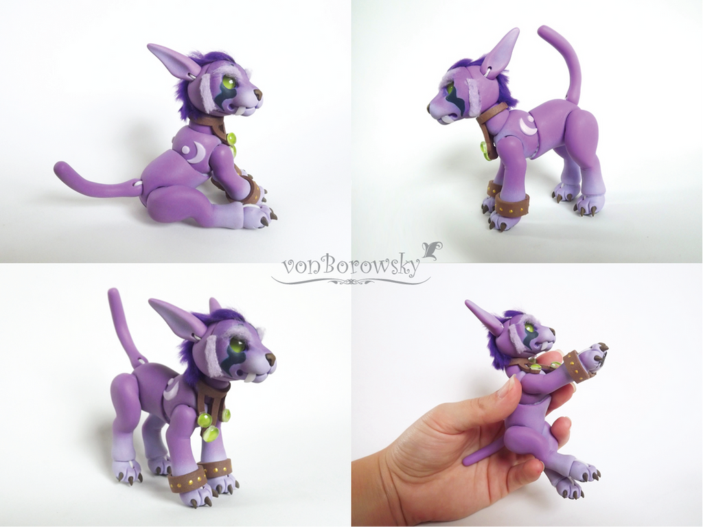 Druid Cat Form - WoW - Ball Jointed Doll 1 by vonBorowsky on ...