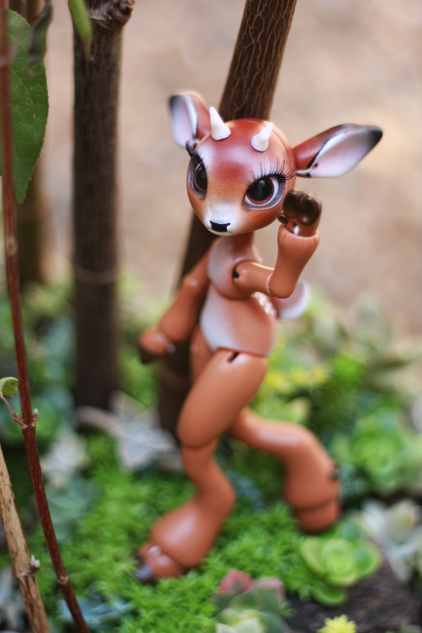 Timber the Little Deer Ball Jointed Doll 1 by vonBorowsky