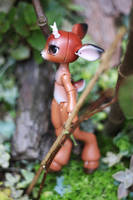Timber the Little Deer Ball Jointed Doll 8 by vonBorowsky