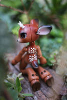 Timber the Little Deer Ball Jointed Doll 10 by vonBorowsky