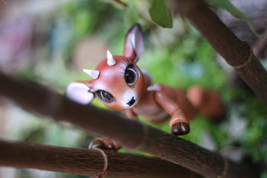 Timber the Little Deer Ball Jointed Doll 13 by vonBorowsky