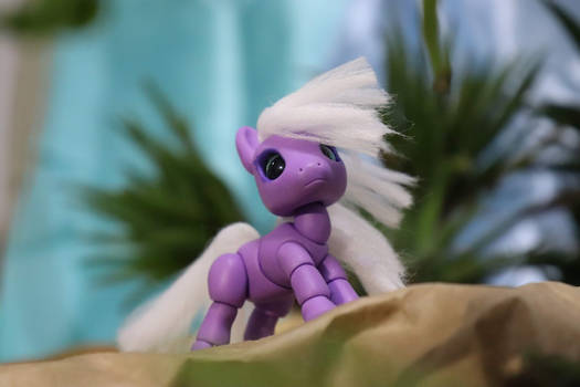 Amethist, the little pony BJD
