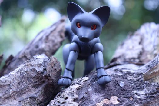 Bara, the silver fox BJD