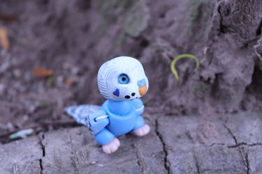 Cora, the blue budgie BJD