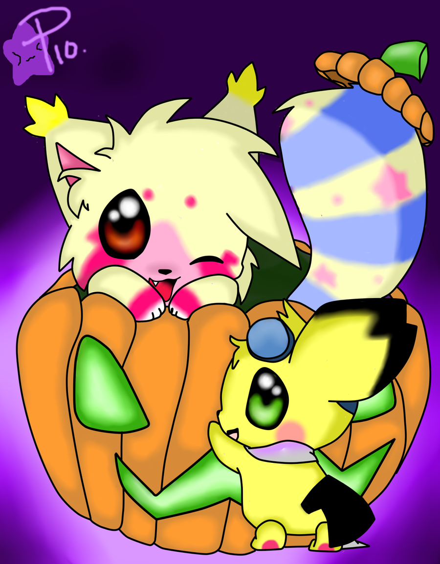 :AT- Spooky Pumpkin Pals: by ToxiicClaws