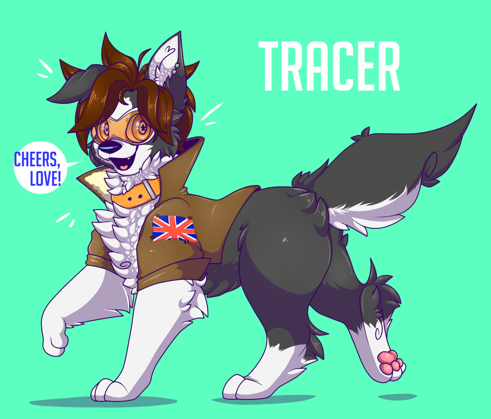 : Tracer here! : by TOXIKAIJU