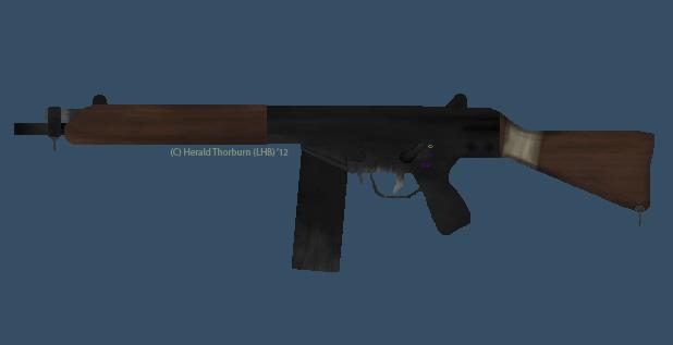 Dieselpunk Rifle II by HB-Thorburn