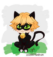 Smol Cat by Errors1007