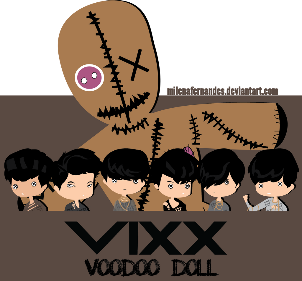 VIXX VOODOO DOLL 1 by MiLenaFernandes on DeviantArt