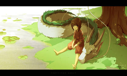 Spirited Away by indui
