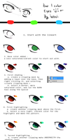 Little tutorial: coloring eyes