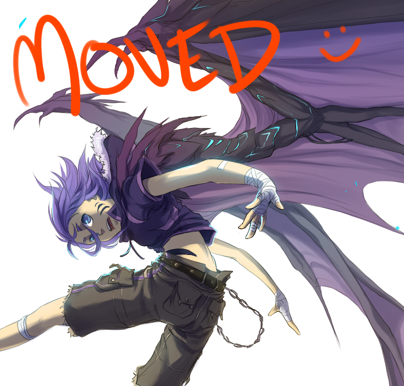 moved accounts! by indui