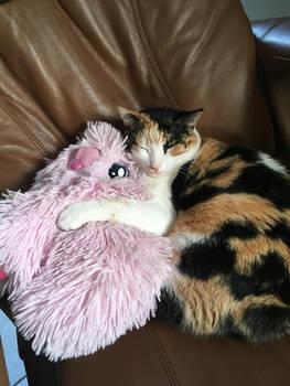 Lola and Flufflepuff