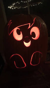 Derpy pumpkin