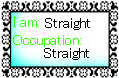 + I am Straight :Stamp: + by M-o-m-m-i-e