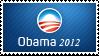Obama 2012 Stamp by ewotion