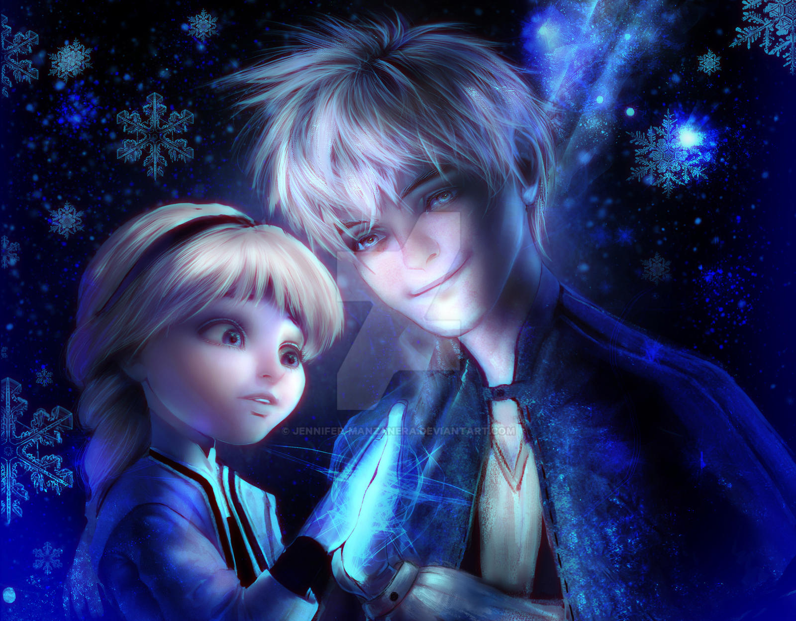 jack frost and elsa frozen hot girls wallpaper