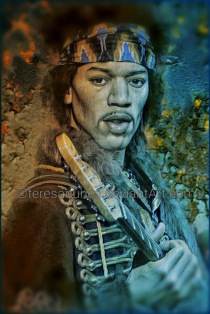 Jimi Hendrix by teresanunes