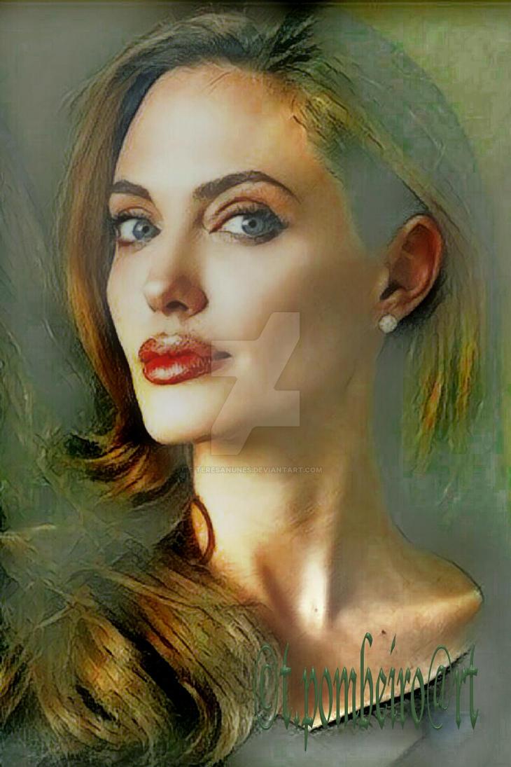 Angelina Joli by teresanunes