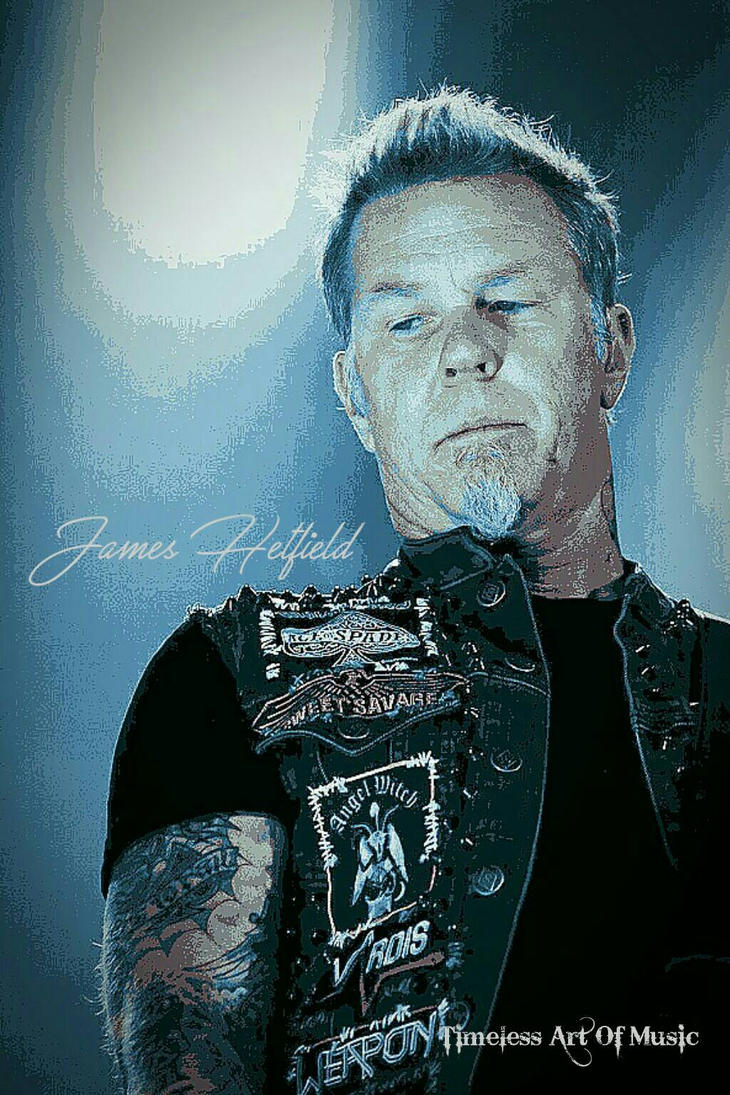James Hetfield by teresanunes