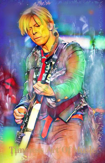 David Bowie by teresanunes