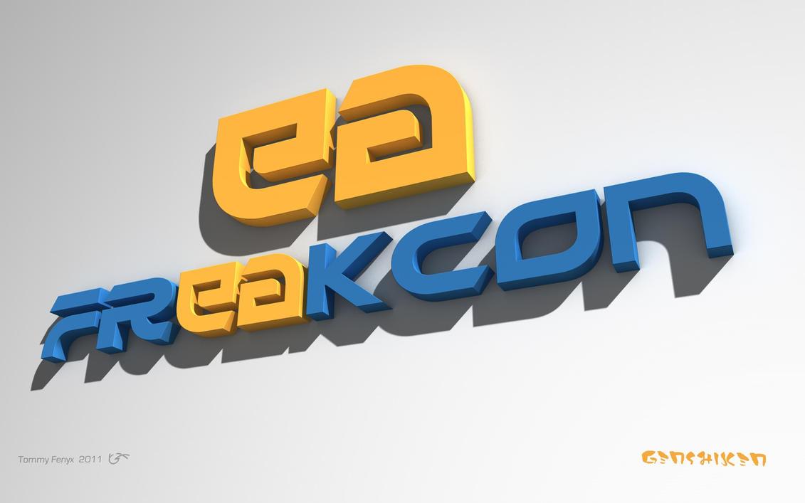 FreakCon Logo 3D by TommyFenyx