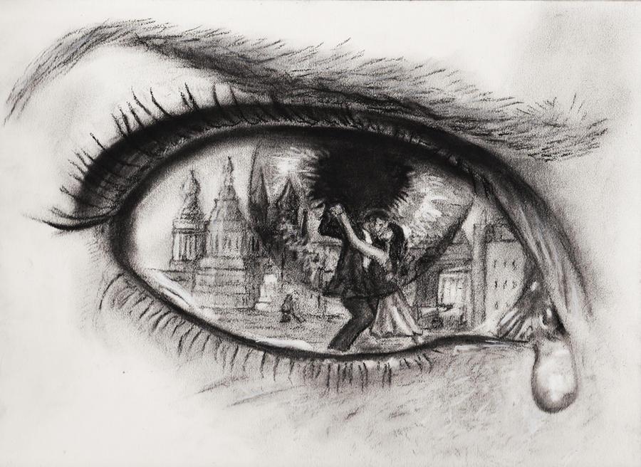 Jealousy in a Tango'd Teardrop by JesterOfTheLost