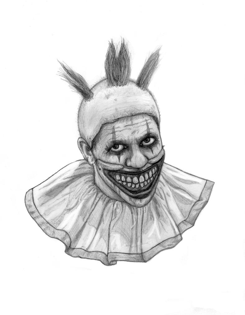 kleurplaten killer clown einhrner 9 malvorlagen xl