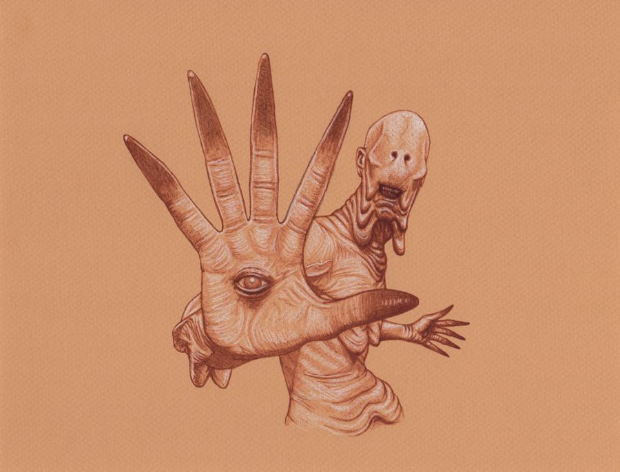 Pan's Labyrinth Pale Man by Frankblanket