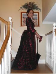 Halloween Dress Side by Lady-Lovelace