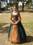Court Gown 2010 Full Length