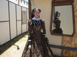 1560s Gown with Partlet