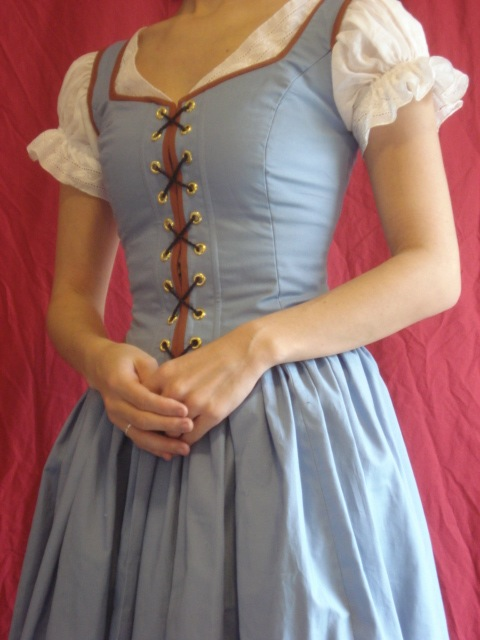 Ouat belle cosplay 4 by lady lovelace on deviantart