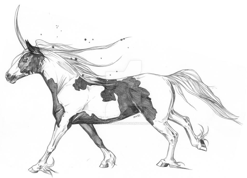 Unicorn Paint by NapalmPrincess