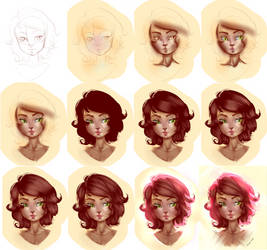 Step by step (Quick Study) by beebrushes