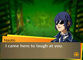 Naoto laughs at you by Unsomnus